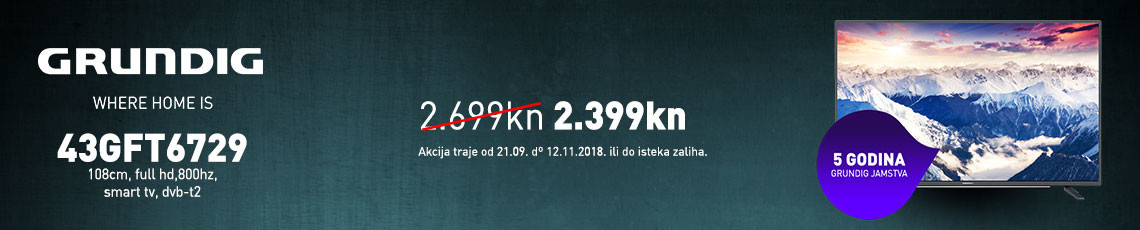 grundig 43gft6729 akcija  2018