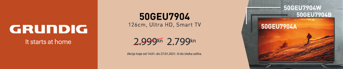 grundig 50geu7904 akcija siječanj 2021