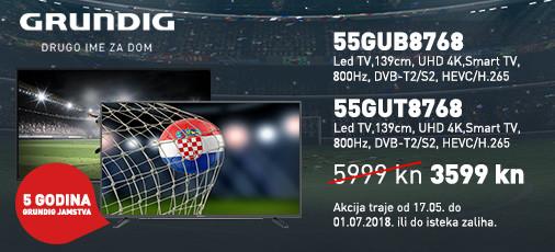 Grundig 55GUB8768 akcija  2018