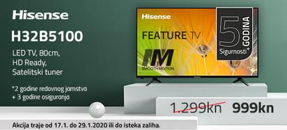 HISENSE 32B5100 Akcija Siječanj 2020