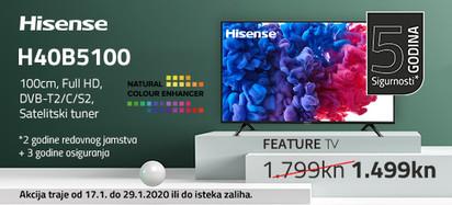 HISENSE 40B5100 Akcija Siječanj 2020
