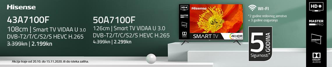 Hisense a7100 akcija listopad