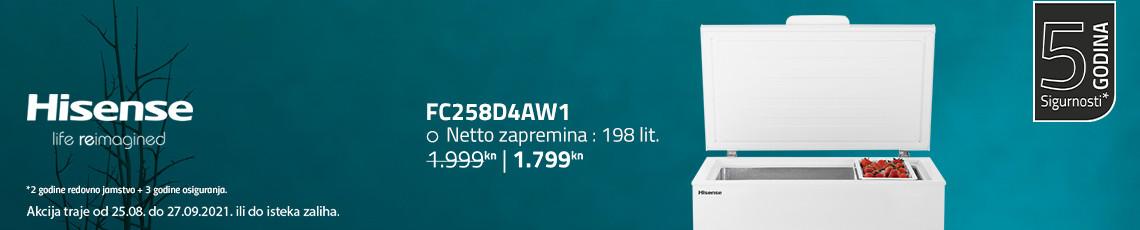 Hisense fc258d4aw1 akcija kolovoz 2021