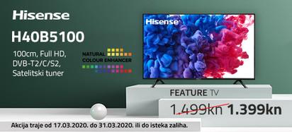 hisense h40b5100 akcija  ožujak