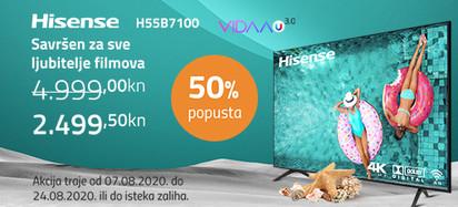 hisense h55b7100 akcija kolovoz