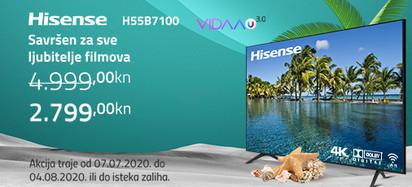 Hisense h55b7100 akcija srpanj 2020