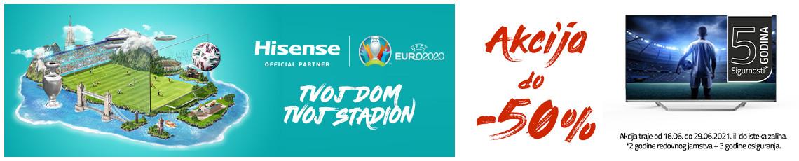 Hisense nogometna akcija 2021