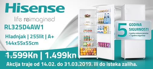 hisense rl325d4aw1 akcija 2019