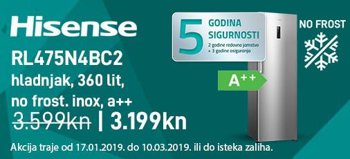 hisense rl475n4bc2 akcija 2019