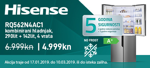 hisense rq562n4ac1 akcija 2019