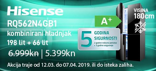 hisense rq562n4gb1 akcija ožujak