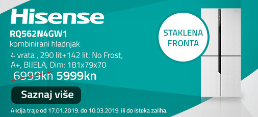 hisense rq562n4gw1 akcija 2019