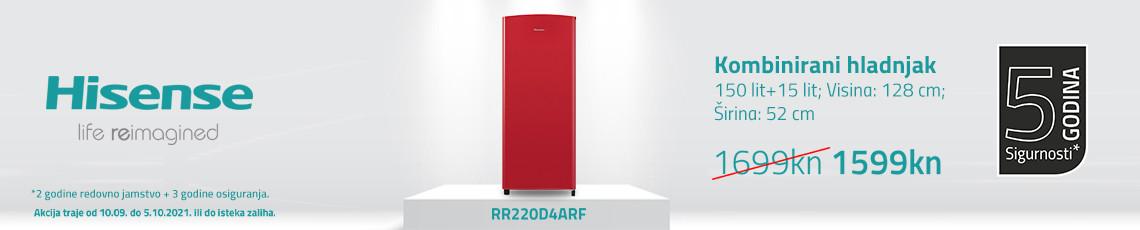 Hisense rr220d4a akcija rujan 2021