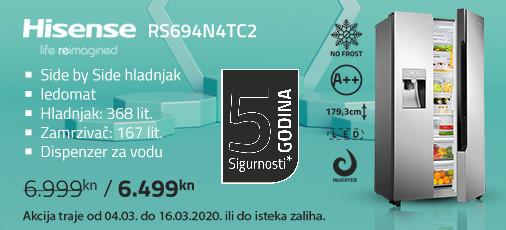 hisense rs694n4tc2 akcija ožujak