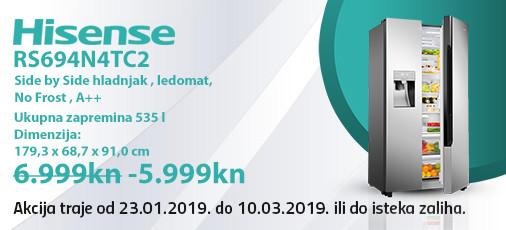 hisense rs694n4tc2 akcija