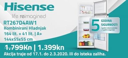 Hisense rt267d4aw1 akcija 2020