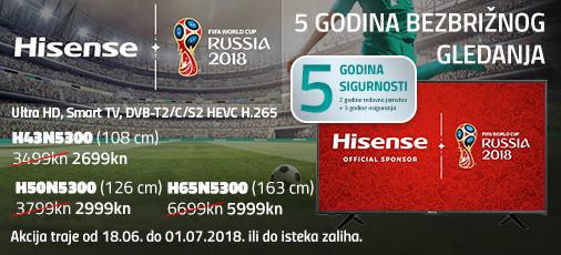 hisense serija n5300 akcija 2018