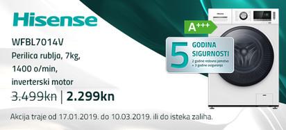 Hisense wfbl7014v akcija 2019
