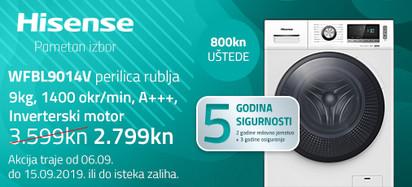 Hisense wfbl9014v akcija rujan
