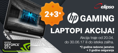 HP Akcija Gaming Proljece S 2017