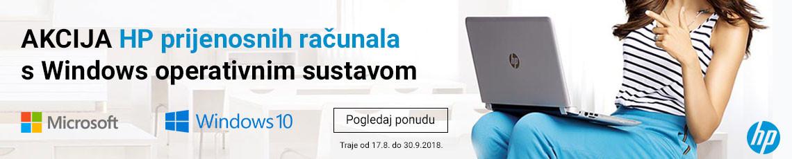 hp akcija windows rujan 2018