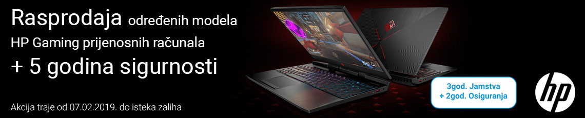 hp gaming lapto rasprodaja veljaca 2019