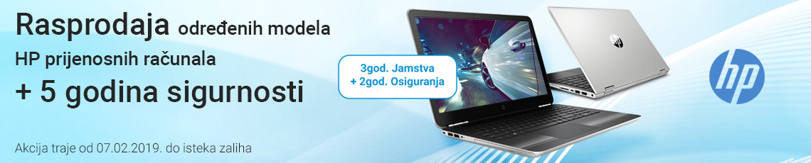 hp notebook rasprodaja veljaca 2019