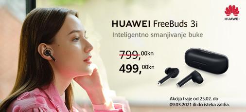 huawei freebuds 3i crne akcija