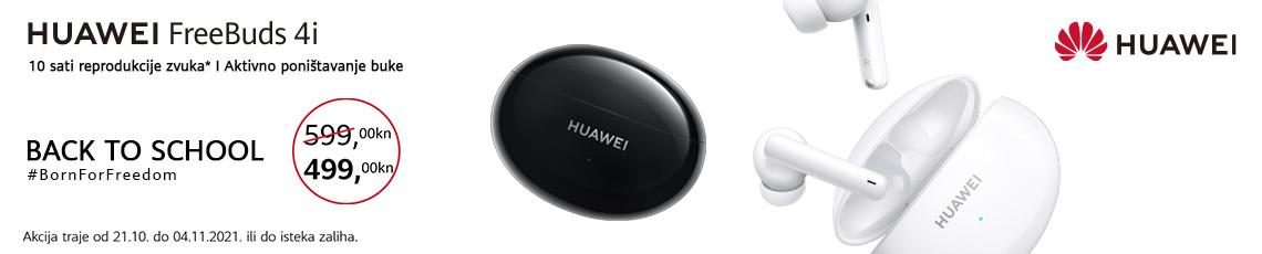 Huawei freebuds 4i akcija 2021