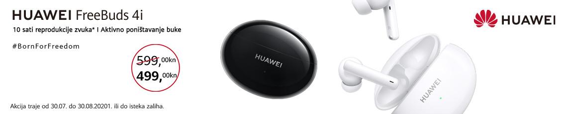 Huawei freebuds 4i akcija kolovoz