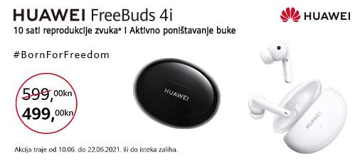 huawei freebuds 4i akcija lipanj