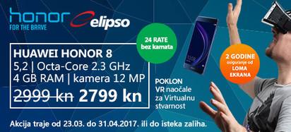 Huawei Honor 8 i VR akcija 2017