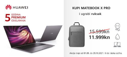 huawei laptop matebook x pro akcija 2021