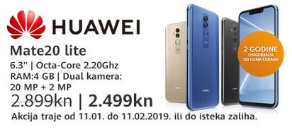 huawei mate 20 lite akcija siječanj 2019