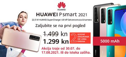 huawei p smart 2021 akcija kolovoz
