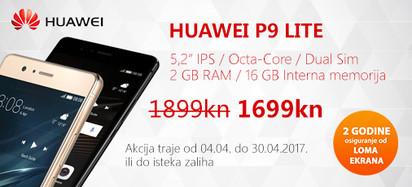 Huawei P9 lite akcija travanj