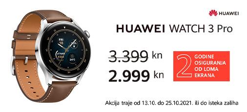 huawei watch 3 pro akcija listopad