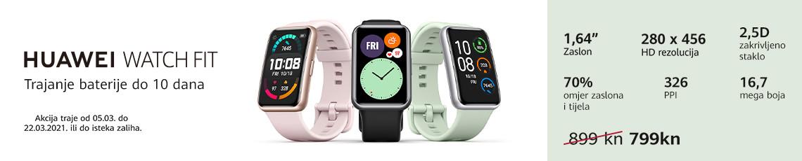 Huawei watch fit akcija ožujak
