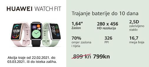 huawei watch fit akcija