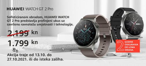 huawei watch gt 2 pro akcija listopad