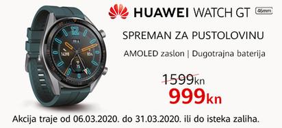 Huawei watch gt akcija  ožujak