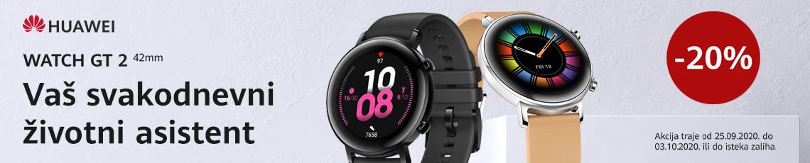 Huawei watch gt2 42mm  akcija rujan 2020
