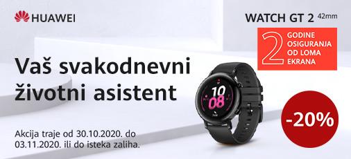 huawei watch gt2 42mm akcija  2020