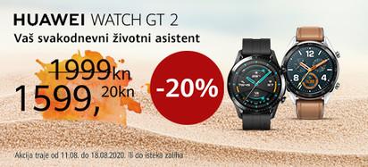 Huawei watch gt2 akcija kolovoz 2020