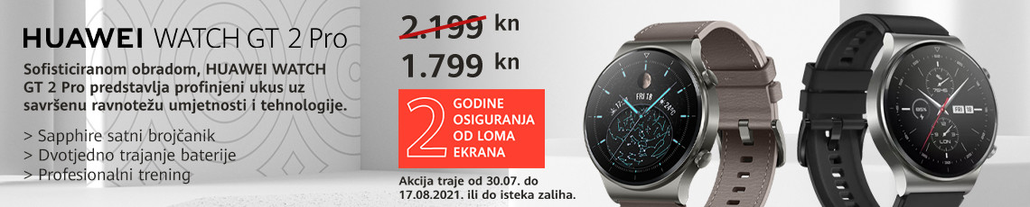 Huawei watch gt2 pro akcija kolovoz