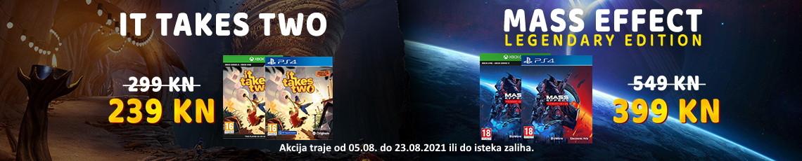 Igre - Akcija TakeTwo Mass Kolovoz 2021