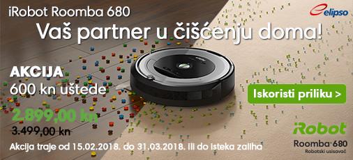 iRobot Roomba 680 Akcija