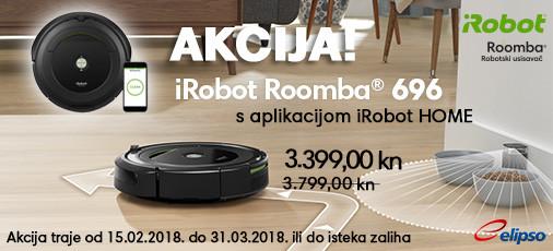 irobot roomba 696 akcija