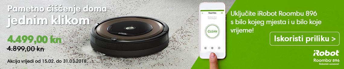 iRobot Roomba 896 Akcija