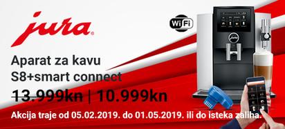 jura s8+smart connect akcija veljaca